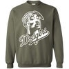 Tupac Dodgers Sweater - Military Green - Shipping Worldwide - NINONINE