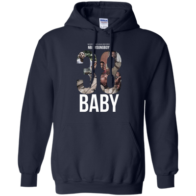 38 Baby Hoodie NBA Youngboy - Navy - Shipping Worldwide - NINONINE