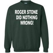 Roger Stone Did Nothing Wrong Sweatshirt