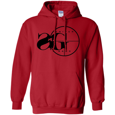 Sniper Gang Hoodie Light - Red - Shipping Worldwide - NINONINE