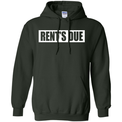 Rents Due Hoodie - Forest Green - Shipping Worldwide - NINONINE