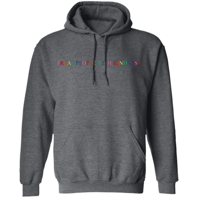 Harry Style Treat People With Kindness Hoodie - Dark Heather - Shipping Worldwide - NINONINE