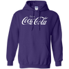 Coca Cola Hoodie - Purple - Shipping Worldwide - NINONINE
