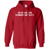 Tattoos Are For Scumbags Hoodie - Red - Shipping Worldwide - NINONINE