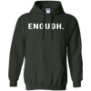 Enough Hoodie Gun Violence - Forest Green - Shipping Worldwide - NINONINE