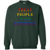 Treat People With Kindness Sweater Pride - Forest Green - Shipping Worldwide - NINONINE