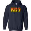 Kiss Hoodie - Navy - Shipping Worldwide - NINONINE