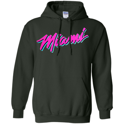 Miami Heat Vice Hoodie - Forest Green - Shipping Worldwide - NINONINE