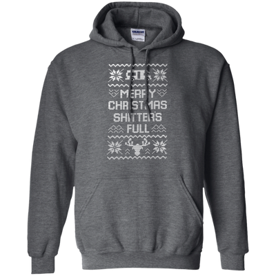 Shitters Full Hoodie - Dark Heather - Shipping Worldwide - NINONINE