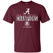 Alabama Crimson Tide Sec Championship Shirt