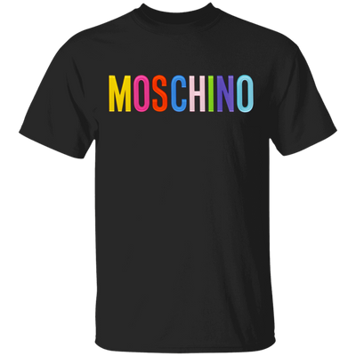 Moschino Colorful Shirt - Black - Worldwide Shipping - NINONINE