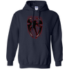 Roman Reigns Hoodie Dark - Navy - Shipping Worldwide - NINONINE