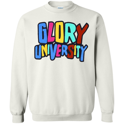 Glory University Sweater - White - Shipping Worldwide - NINONINE