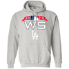 Dodgers World Series Hoodie - Ash - Shipping Worldwide - NINONINE