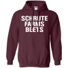 Schrute Farms Hoodie Dark - Maroon - Shipping Worldwide - NINONINE