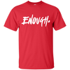 Enough Shirt - Red - Shipping Worldwide - NINONINE