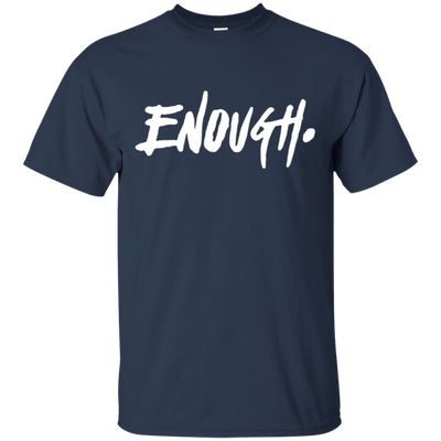 Enough Shirt - Navy - Shipping Worldwide - NINONINE