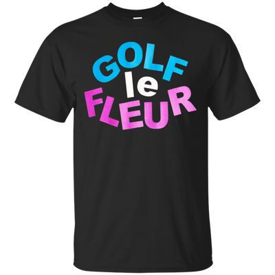 Golf Le Fleur Shirt - Black - Shipping Worldwide - NINONINE