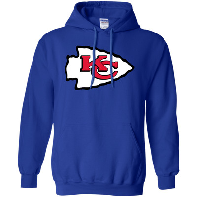 Chiefs Hoodie - Royal - Shipping Worldwide - NINONINE