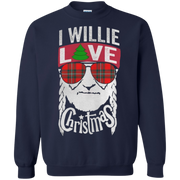 I Willie Love Christmas Sweatshirt