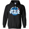 United States Space Force Pew Pew Hoodie - Black - Shipping Worldwide - NINONINE