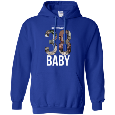 38 Baby Hoodie NBA Youngboy - Royal - Shipping Worldwide - NINONINE