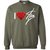 I Love Stan Lee Sweater - Military Green - Shipping Worldwide - NINONINE