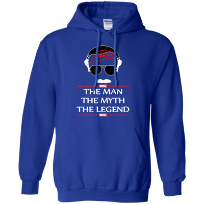Stan Lee The Man The Myth The Legend Hoodie - Royal - Shipping Worldwide - NINONINE