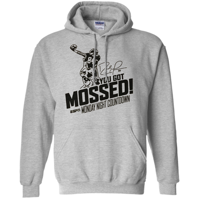 You Got Mossed Hoodie - Sport Grey - Shipping Worldwide - NINONINE