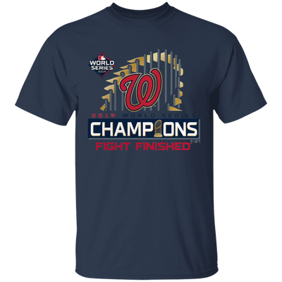 Nationals World Series Shirt - Navy - Worldwide Shipping - NINONINE