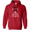 Stan Lee The Man The Myth The Legend Hoodie - Red - Shipping Worldwide - NINONINE