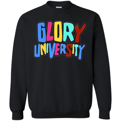Glory University Sweater - Black - Shipping Worldwide - NINONINE
