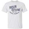 Maison Kitsune Shirt Light - White - Shipping Worldwide - NINONINE