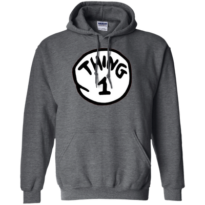Thing 1 Hoodie - Dark Heather - Shipping Worldwide - NINONINE