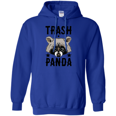 Trash Panda Hoodie - Royal - Shipping Worldwide - NINONINE