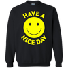 Have A Day Sweater - Black - Shipping Worldwide - NINONINE