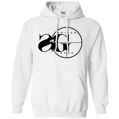 Sniper Gang Hoodie Light - White - Shipping Worldwide - NINONINE