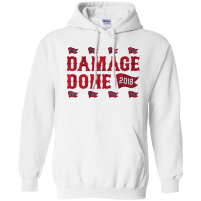 Damage Done Hoodie Red Sox Champion 2018 - White - Shipping Worldwide - NINONINE