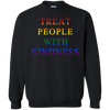 Treat People With Kindness Sweater Pride - Black - Shipping Worldwide - NINONINE