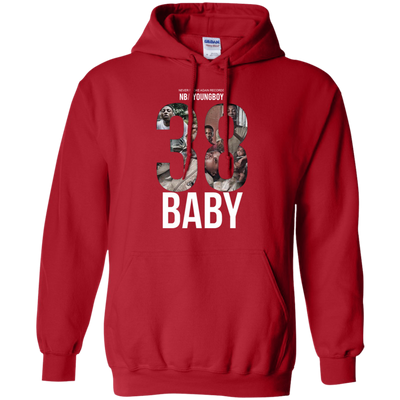 38 Baby Hoodie NBA Youngboy - Red - Shipping Worldwide - NINONINE