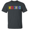 Moschino Colorful Shirt - Dark Heather - Worldwide Shipping - NINONINE