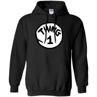 Thing 1 Hoodie - Black - Shipping Worldwide - NINONINE