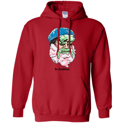 Hi Daddies Cotton Candy Randy Hoodie - Red - Shipping Worldwide - NINONINE