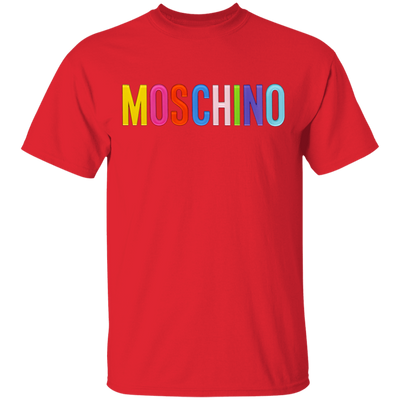 Moschino Colorful Shirt - Red - Worldwide Shipping - NINONINE