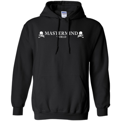 Mastermind World Hoodie - Black - Shipping Worldwide - NINONINE