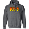 Kiss Hoodie - Dark Heather - Shipping Worldwide - NINONINE