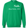 Nah Rosa Parks Sweater - Irish Green - Shipping Worldwide - NINONINE