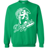 Tupac Dodgers Sweater - Irish Green - Shipping Worldwide - NINONINE