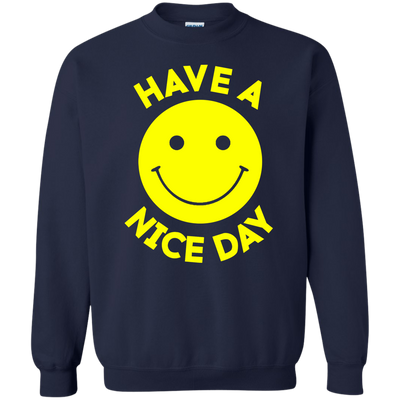 Have A Day Sweater - Navy - Shipping Worldwide - NINONINE