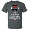 Stan Lee The Man The Myth The Legend Shirt - Dark Heather - Shipping Worldwide - NINONINE